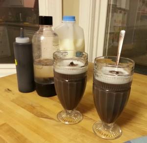 Chocolate soda