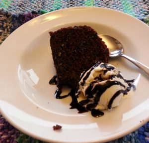 chocolate whiskey bundt cake