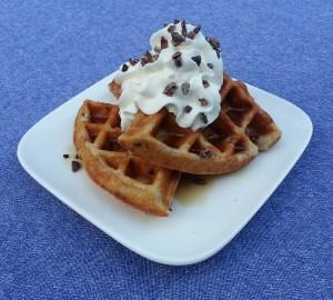 nibby waffles