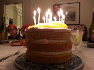 lime pineapple marshmallow cake