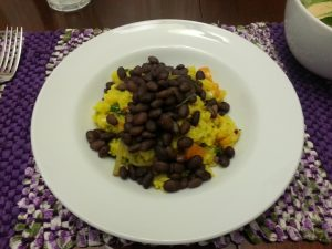 Yellow rice with black beans.jpg