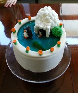 ice rink cake